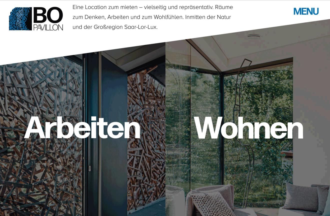Webtexte für eine Location mit spannender Geschichte - ein Projektbild